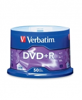 Verbatim DVD+R (4.7GB) 16x (50pcs in Spindle) [Cake Box]